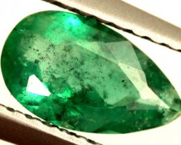 0.75 CTS EMERALD FACETED STONE ANGC-357