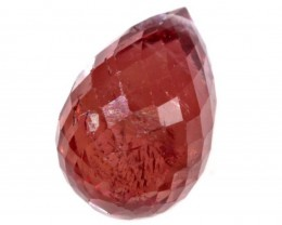 1.35 CTS VS Ruby Briolette Bead ANGC-364
