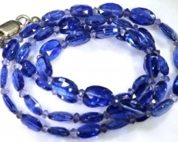 59.65 CTS KYANITE FACETED BEADS ANGC-377