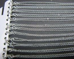 12 Silver  Plated service Chains