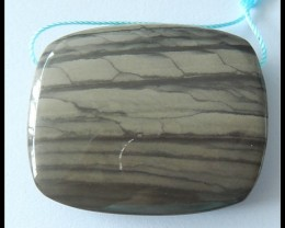 Natural Wave Jasper Pendant Bead,112.5cts(D0018)