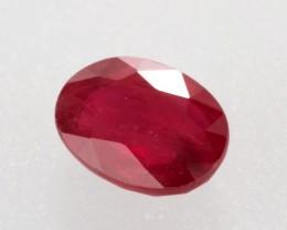 1.16ct Ruby Oval Cut