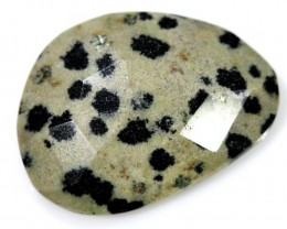 13.20 CTS FACETED DALMATION JASPER ADG-1264