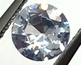 0.69 CTS  CERTIFIED SAPPHIRE FACETED GEMSTONE TBM-815