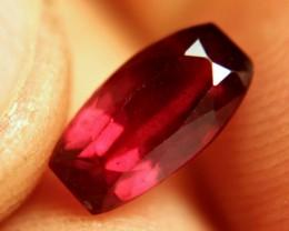 3.14 Carat Fiery Ruby