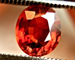 1.20 Carat VVS/VS Reddish Orange Spessartite