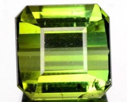 2.97 Cts Natural Neon Green Tourmaline Mozambique Gem