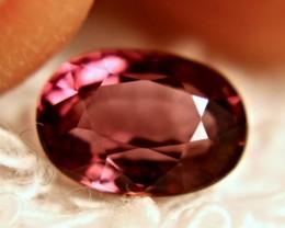 2.04 Carat Purplish Pink VVS Rhodolite Garnet