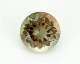 2ct Oregon Sunstone, Green/Peach Round (S1361)