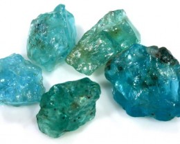 37.20 CTS APATITE ROUGH - UNTREATED PARCEL RG-1671