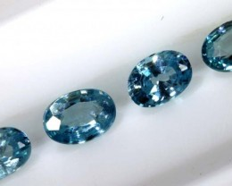 2.65 CTS BLUE ZIRCON FACETED STONE CG-2035