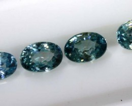 3.35 CTS BLUE ZIRCON FACETED STONE CG-2036