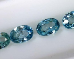 3.30 CTS BLUE ZIRCON FACETED STONE CG-2037