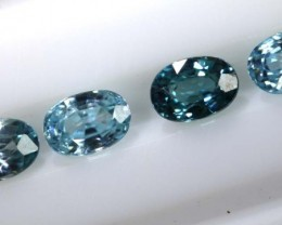 3.30 CTS BLUE ZIRCON FACETED STONE CG-2038