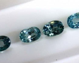 3.35 CTS BLUE ZIRCON FACETED STONE CG-2040