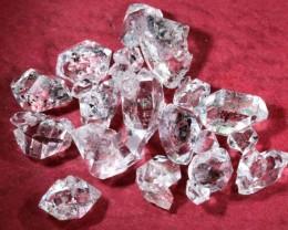 17.85 CTS QUARTZ LIKE HERKIMER DIAMOND PARCEL CG-2048