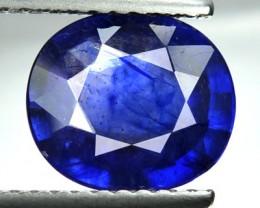 3.59 Cts Natural Blue Sapphire Oval Cut Madagascar Gem