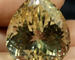 Collector's Gem Lemon Color Triphane spodumene 100% Natural Color From Afgh