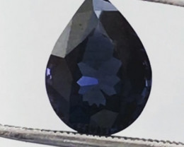 Midnight Blue Pear Shape 2.00ct Spinel - Sri Lanka G607