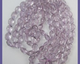 AAA+ ABSOLUTELY GORGEOUS PINK AMETHYST 5X7-9X11MM FACETED BEADS