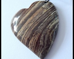 103cts Natural Wood Fossil Pendant Bead