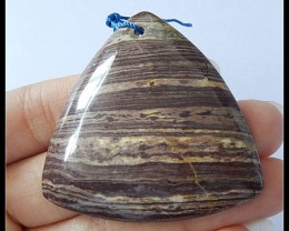 116.5cts Natural Wood Fossil Pendant Bead
