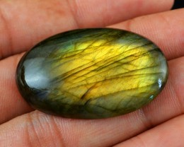 Genuine 59.65 Cts Labradorite Oval Shaped Cab