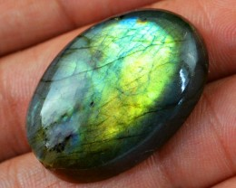 Genuine 48.70 Cts Labradorite Oval Shaped Cab