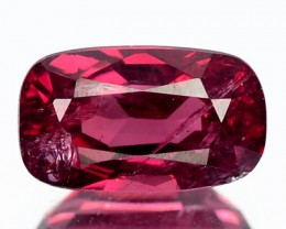 1.08 Cts Natural Pinkish Red Spinel Cushion Cut Burmese Gem