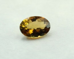 TOURMALINE GOLDEN SUNSET OVAL SHAPED