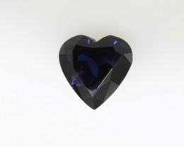 1.96cts Natural Australian Blue Sapphire Heart Cut