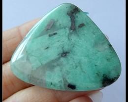 101.5Cts Natural Emerald Gemstone Pendant Bead