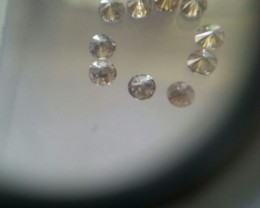 NATURAL BROWNDIAMOND,3MMSIZE-0.95CTWLOT,NR