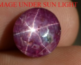 5.10 Ct Star Ruby CERTIFIED Beautiful Natural Unheated & Untreated