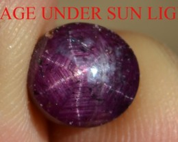 5.85 Ct Star Ruby CERTIFIED Beautiful Natural Unheated & Untreated