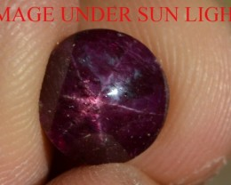 4.40 Ct Star Ruby CERTIFIED Beautiful Natural Unheated & Untreated