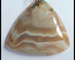 118cts Natural Agate Pendant Bead