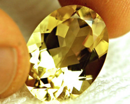 15.65 Carat Vibrant Yellow Congo Andesine - Superb