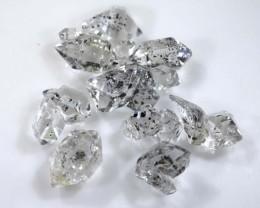 12.35 CTS QUARTZ LIKE HERKIMER DIAMOND PARCEL ADG-1401