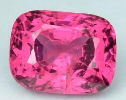 Hot Pink 1.08 Cts Natural Spinel Burmese Gem