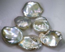 22.85 CTS PEARL STONE (PARCEL) DRILLED ADG-1446