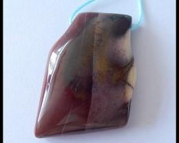 66Cts Natural Mookaite Jasper Pendant Bead
