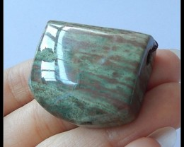 113Cts Natural Wood Fossil Pendant Bead