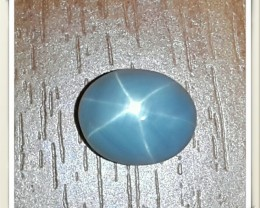 1.95 cts Natural Unheated Star Sapphire Six Rays Cabochon Charming