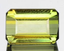 2.97 Cts Natural Neon Green Tourmaline Mozambique Gem