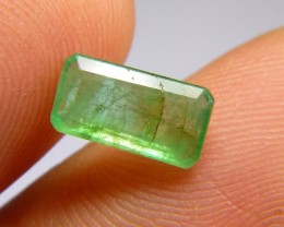1.85cts Afghan Emerald , 100% Natural Gemstone