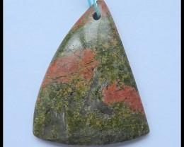 72 Ct Natural Unikaite Jasper Pendant Bead(D0013)