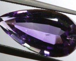 4.75 CTS UNTREATED AMETHYST BI-COLOR FACETED RNG-371