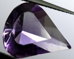 3.55 CTS UNTREATED AMETHYST BI-COLOR FACETED RNG-372