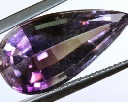 7.70 CTS UNTREATED AMETHYST BI-COLOR FACETED RNG-374